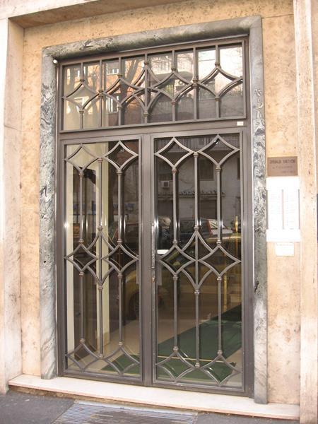 Cancelli Condominiali Portoni In Ferro O M C M Infissi Roma