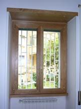 Finestre in alluminio legno o m c m infissi roma - Finestre in alluminio roma ...