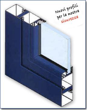 Profili in acciaio o m c m infissi roma for Profili per gradini in acciaio